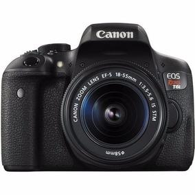 Cámara Dsrl Canon Eos Rebel T6i Lente 18 55 Gratis 75 300mm