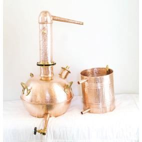 Alambique Cobre 50 Lts Profissional Whisky Rum Cobrebrasil