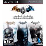 Batman Arkham Collection (asylum-city-origins) Pack Ps3
