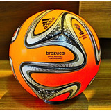 Bola De Futebol adidas Brazuca Power Orange Winter Ball 1e7dd968d726f