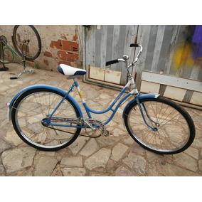Rara Bicicleta Antiga Monark 1957 Sueca Feminina Aro 26