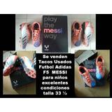 Zapatos De Tacos Para Futbol Marca adidas Para Niños