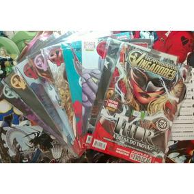 Novíssimos Vingadores Vol 1 Ao 9 Coleção Completa