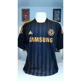 21395a6f93a09 Camisa Chelsea Preta - Camisa Chelsea Masculina no Mercado Livre Brasil