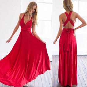 Vestidos de fiesta rojos y largos