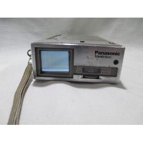 Antiga Mini Tv Panasonic Travelvision - Para Conserto