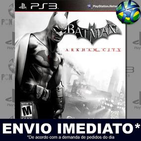 Ps3 Batman Arkham City Legendas Português Psn Envio Imediato
