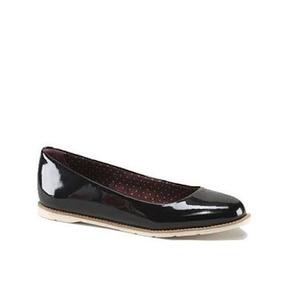 Zapatos Dr Martens Marie Flats Negros De Charol