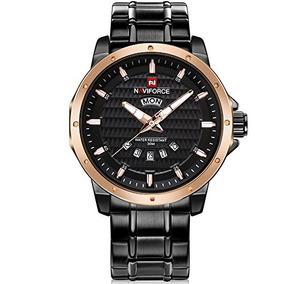 Reloj Dorado Hombre Naviforce - Vestuario y Calzado en Mercado Libre ... 8061a0a29f8b