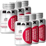 6x Picolinato De Cromo - Max Titanium - 60 Cápsulas