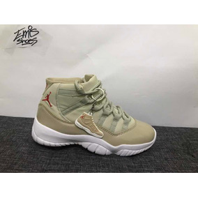 Tenis Air Jordan 11 Retro Khaki/white Envío Gratis