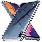 Funda Samsung A10 A50 Anti Shock + Vidrio Templado