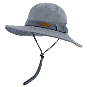 Lethmik Lavado De Algodón Boonie Sombrero De Pesca Al Air c95f1e44bd7