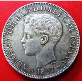 España Lote De 3 Monedas Españolas De Plata Siglo Xix.mirala ... 536440a82c9