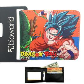 Dragon Ball Cartera Envio Gratis Billetera Goku Varios Mode