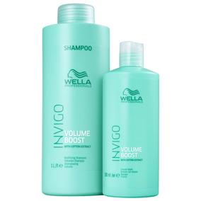 Kit Wella Invigo Volume Boost Salon Duo (2 Produtos)