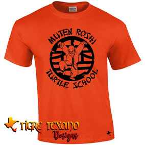 Playera Anime Dragon Ball Turtle Sch By Tigre Texano Designs
