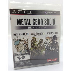 Jogo Ps3 Metal Gear Solid Hd Collection Lacrado Original