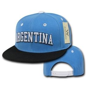 b87dd6d508e98 Gorras Planas Argentina Para Pelo Y Cabeza - Gorros