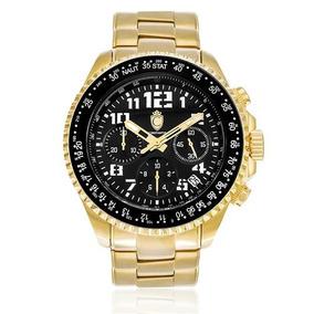e24bf47e146 Relogio Constantim Chronograph Dourado Masculino - Relógios De Pulso ...