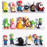 Mario Bros Lote 18 Figuritas