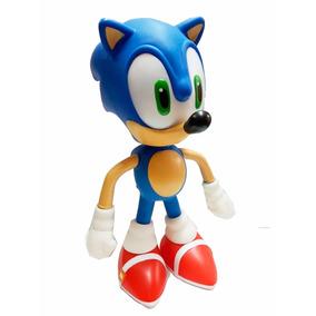 Boneco Action Figures Sonic Articulado Sega 23cm Original