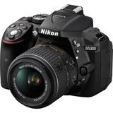 Nikon D5300 Dslr Cámara Con Lente Vr De 18-55mm (negro)