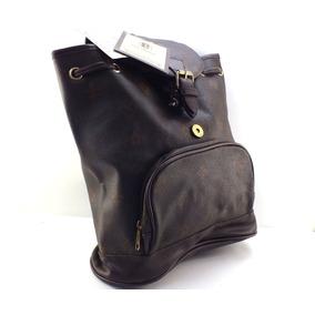 Bolsa-mochila Feminina Reforçada Gigi Chantal Marrom B3154