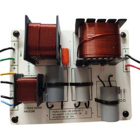 Kit 2 Unid. Divisor De Frequência 3 Vias 800w