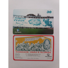 Cartão Raro Telemar 02 09/99 Tir 5 Mil Palmeiras