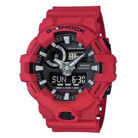 Relógio G Shock Vermelho Ga-700 12x Sem Juros Promoção