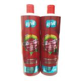 Kit Eleve Santa Bomba Shampoo 1 Lt + Condicionador 1 Lt