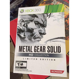 Metal Gear Solid Hd Collection!!! Para Xbox 360