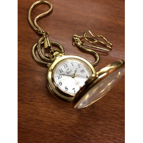 2c8998fd412 Relogio De Bolso Dumont Folheado - Relógios no Mercado Livre Brasil