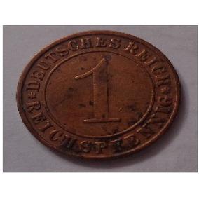 Moeda 1 Reichspfennig 1929 De Bronze