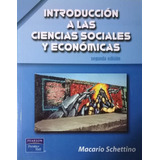Ciencias Sociales Y Económicas Introducción Schettino