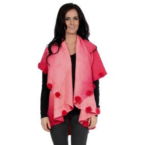 Red - Del Mantón De Pashmina Suave Abrigo De La Mujer E-3171