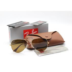 0126e4f94a825 Ray Ban Aviador - Óculos De Sol no Mercado Livre Brasil