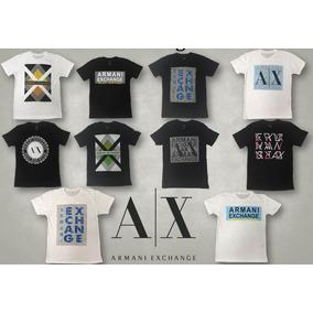 59fad5ae0bf Lote Camisetas Originais Armani Exchange