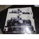 Calco Calcomania Team West Mclaren Mercedes F1