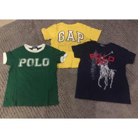 Set Playeras Polo Y Gap. Niño. Talla 5