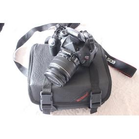 Canon T3i 600d Com Lente 18-55mm Bolsa E Frete Gratis