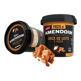 Pasta De Amendoim Com Doce De Leite E Coco 450g