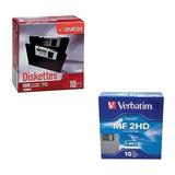 Pack De 10 Cajas Con C/10 Diskettes Flopy Imation 3.5