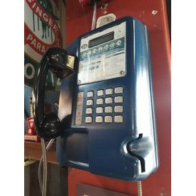 Telefone Publico - Orelhão Antigo - Conservado - De Metal