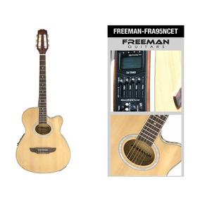 Guitarra Electroacústica Fra95ncet, Color Natural, Freeman