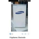 Frigobar Samsung, Autofros, Color Blanco, Vendo X Viaje