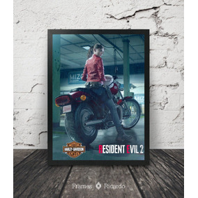 Quadro Claire Redfield (resident Evil 2 Remake)
