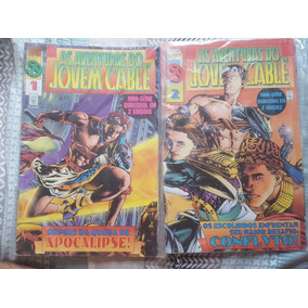 As Aventuras Do Jovem Cable 2 Edições