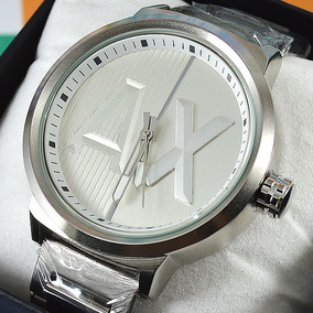 ab3e067cea8 Relógio Armani Exchange Ax Pulseira Aço À Prova D´água